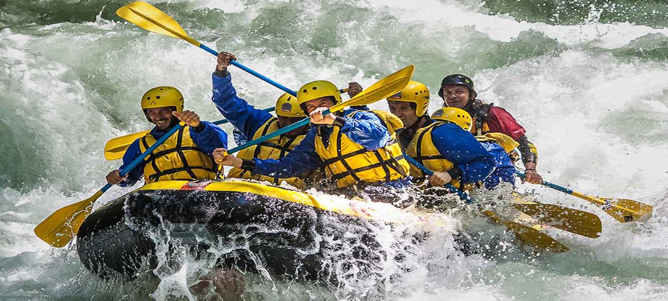 rafting slider